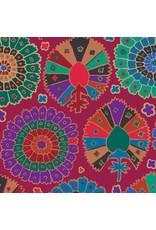 Kaffe Fassett Kaffe Collective, Turkish Delight in Wine, Fabric Half-Yards  PWGP081