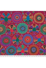 Kaffe Fassett Kaffe Collective 2019, Turkish Delight in Wine, Fabric Half-Yards  PWGP081