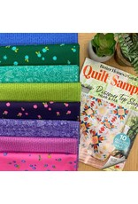 Radiant Glow Quilt Top Kit as featured in Quilt Sampler Magazine