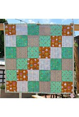 "Green Bake Shop Stroller Blanket, 40""x40"""