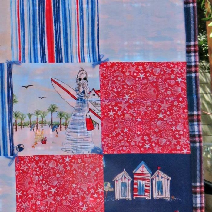 "Coronado Beach Stroller Blanket, 40""x40"""