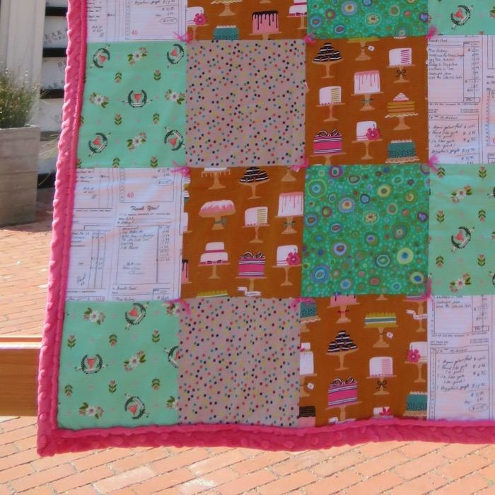 "Bake Shop Lap Quilt, 40""x50"""