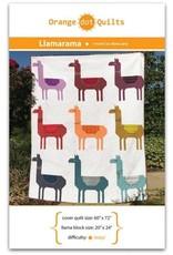 Orange Dot Quilts Orange Dot Quilt's Llamarama Pattern