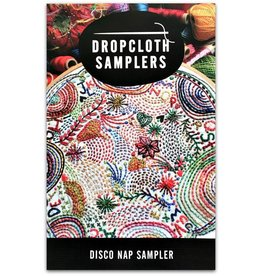 Dropcloth Samplers Disco Nap Sampler, an Alphabet Embroidery Sampler from Dropcloth Samplers