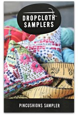 Dropcloth Samplers Pincushions Sampler, Embroidery Sampler from Dropcloth Samplers