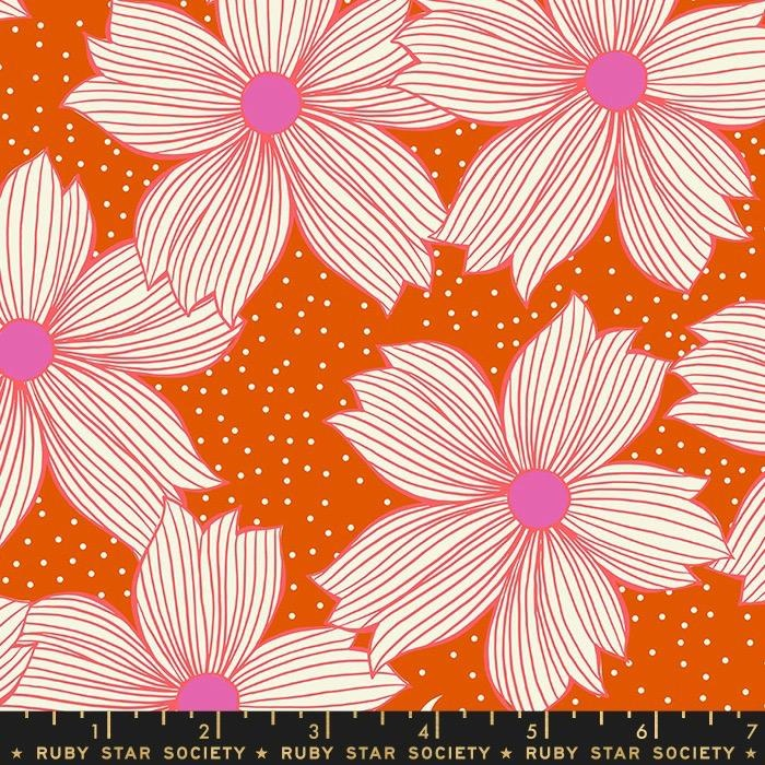 PD's Ruby Star Society Collection Ruby Star Society, Crescent Floral in Autumn, Dinner Napkin