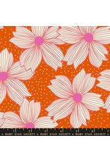 Sarah Watts Ruby Star Society, Crescent Floral in Autumn, Fabric Half-Yards RS2004 11