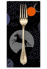 PD's Ruby Star Society Collection Ruby Star Society, Crescent Unicorns in Black, Dinner Napkin