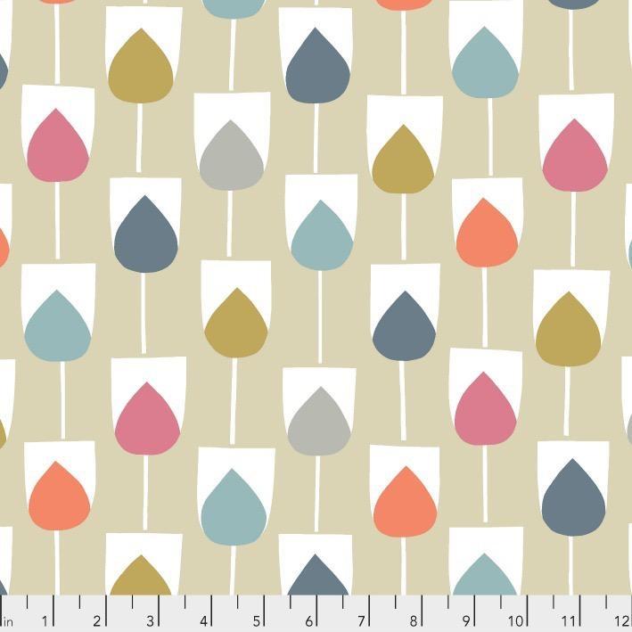 Free Spirit Baja, Sula in Beige, Fabric Half-Yards PWSC012