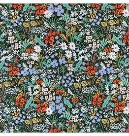 Rifle Paper Co. Meadow, Meadow in Hunter, Fabric Half-Yards RP204-HU1