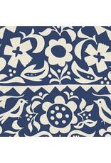 Alexia Abegg Ruby Star Society, Alma Market Floral in Indigo, Fabric Half-Yards RS4001 12