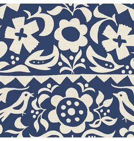 Alexia Abegg Ruby Star Society, Alma Market Floral in Indigo, Fabric Half-Yards RS4001 12