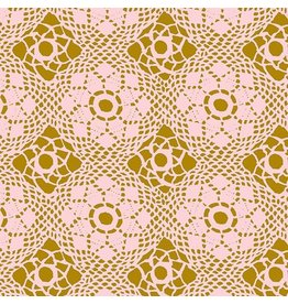 Alison Glass Handiwork, Crochet in Blush, Fabric Half-Yards A-9253-E