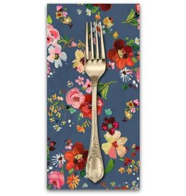 PD's August Wren Collection Tokyo Dreams, Bouquets in Multi, Dinner Napkin