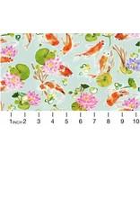 August Wren Tokyo Dreams, Koi Pond in Multi, Fabric Half-Yards STELLA-DAW1396