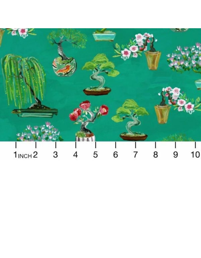 August Wren Tokyo Dreams, Bonsai in Multi, Fabric Half-Yards STELLA-DAW1395