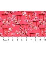 August Wren Tokyo Dreams, Gates in Multi, Fabric Half-Yards STELLA-DAW1392