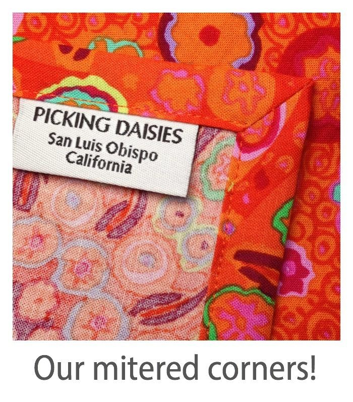 PD's Linen Blend Collection Cotton Linen Canvas by Ruby Star Society 2019, Peaches in Orange, Dinner Napkin