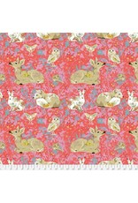 Free Spirit Land Art, Mini Enchanted Forest in Rose, Fabric Half-Yards PWOB025