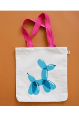 Picking Daisies Balloon Dog Tote Bag by Rashida Coleman-Hale for Ruby Star Society