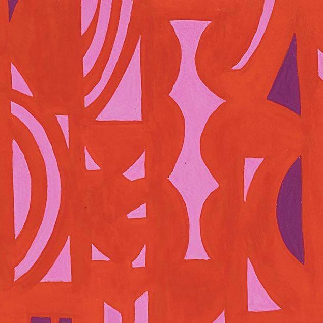 Alexander Henry Fabrics The Ghastlies, A Ghastlie Screen in Red, Fabric Half-Yards 8790B