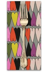 PD's Alexander Henry Collection A Ghastlie Heart in Snapdragon, Dinner Napkin