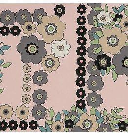 Alexander Henry Fabrics The Ghastlies, A Ghastlie Bouquet in Pale Pink, Fabric Half-Yards 8789C