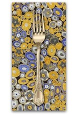PD's Robert Kaufman Collection Gustav Klimt, Millefiori in Cobalt, Dinner Napkin