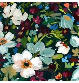 August Wren Woodland Fairytale, Marin Bouquet in Multi, Fabric Half-Yards STELLA-DAW1456