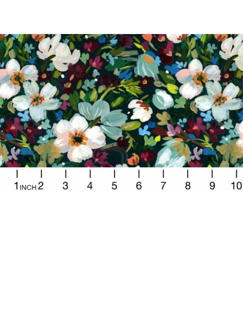August Wren Woodland Fairytale, Marin Bouquet in Multi, Fabric Half-Yards STELLA-DAW1456