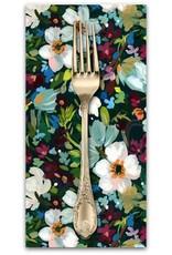 PD's August Wren Collection Woodland Fairytale, Marin Bouquet in Multi, Dinner Napkin