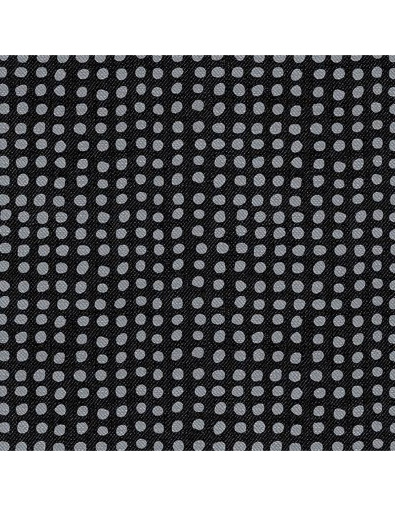 "Libs Elliott Almost Blue, Dot in Asphalt, Fabric Half-Yards A-9350-K (22"" CUT REMAINING)"