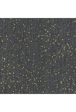 Libs Elliott Almost Blue, Spray in Asphalt with Metallic, Fabric Half-Yards A-9353-MG