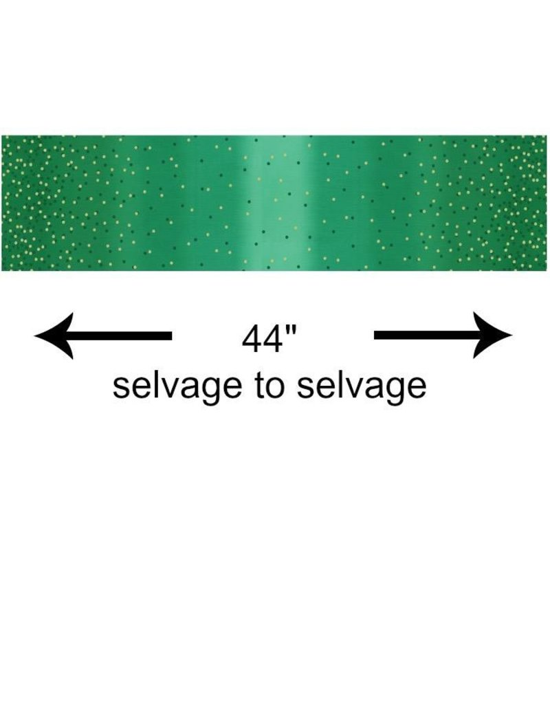 V & Co. Ombre Confetti New in Kelly, Fabric Half-Yards 10807 323M