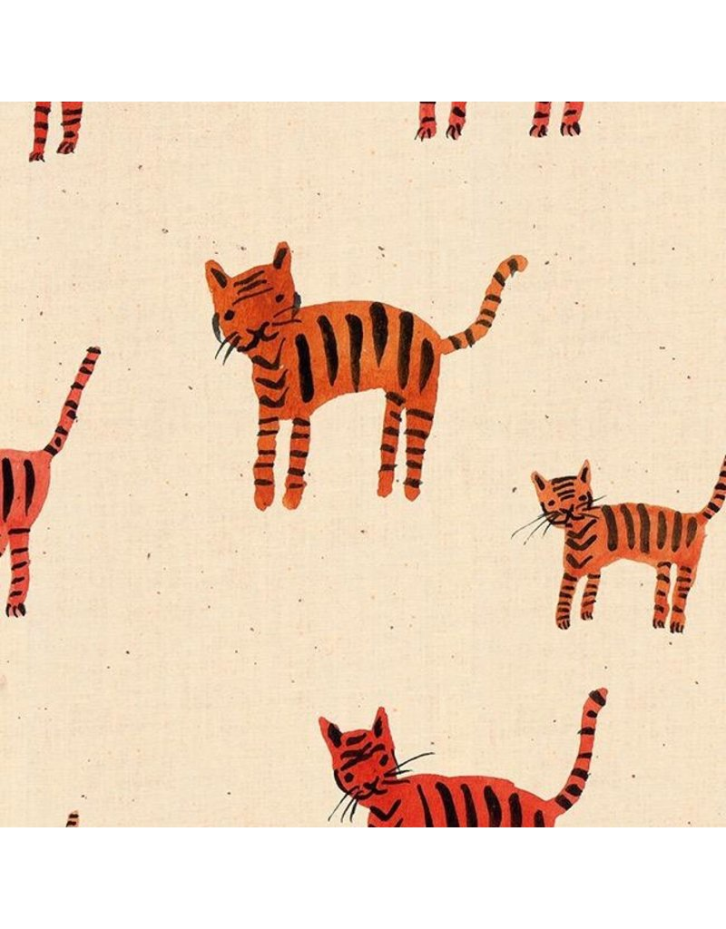 Ruby Star Society for Moda Ruby Star Society Darlings, Tiger Stripes in Orange, Fabric Half-Yards RS5021 11