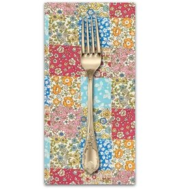 PD's Japan Import Collection Cosmo Japan, London Floral Patchwork in Multi, Dinner Napkin