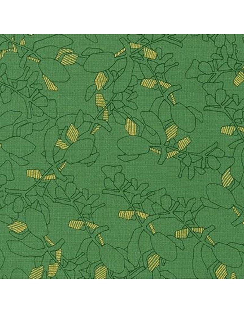 Carolyn Friedlander Collection CF, Succulent in Moss, Fabric Half-Yards AFR-19928-45