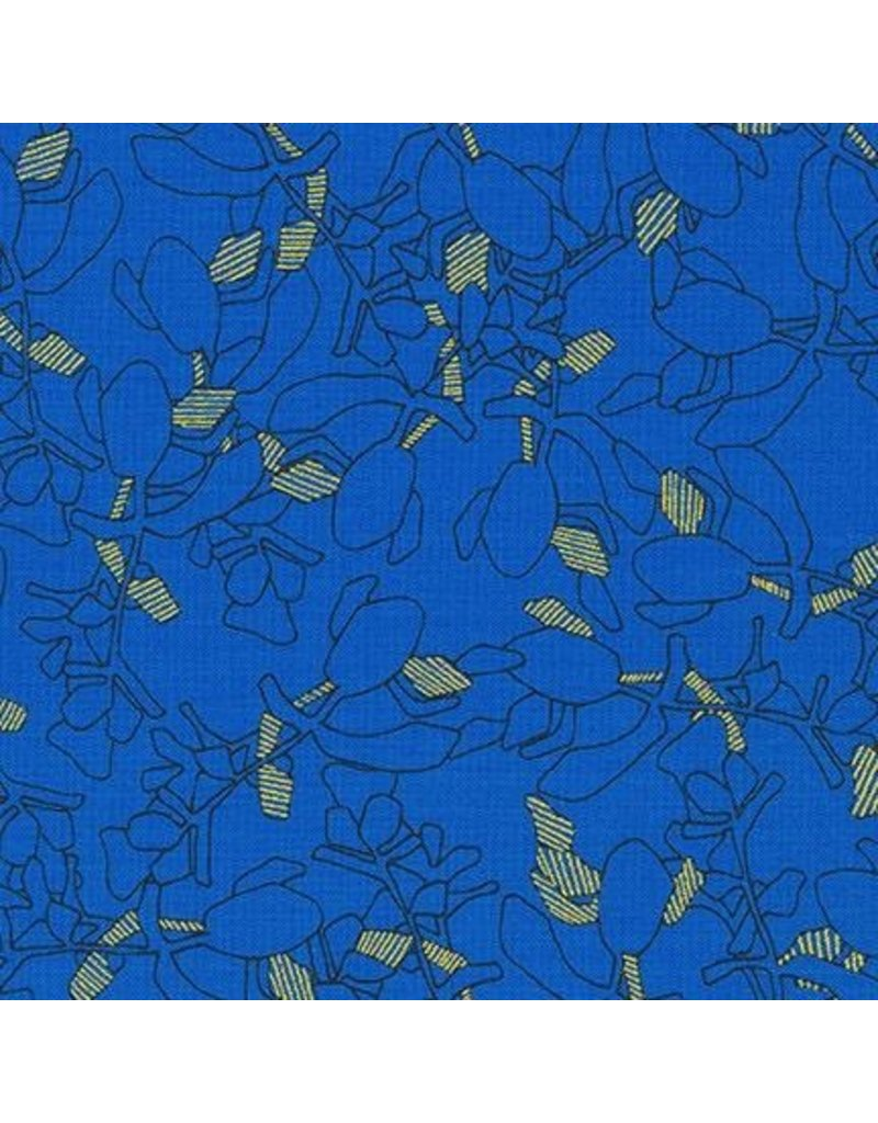 Carolyn Friedlander Collection CF, Succulent in Royal, Fabric Half-Yards AFR-19928-11