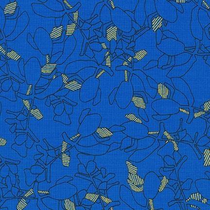 Carolyn Friedlander Collection CF, Succulent in Royal, Fabric Half-Yards AFR-19928-11