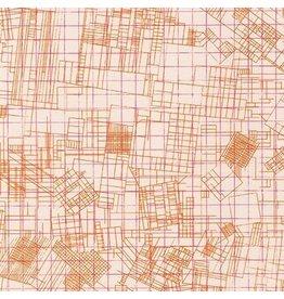 Carolyn Friedlander Collection CF, Blueprint in Shell, Fabric Half-Yards AFR-19929-376