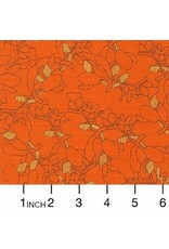 PD's Carolyn Friedlander Collection Collection CF, Succulent in Orangeade, Dinner Napkin