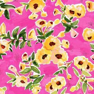 August Wren Viva Mexico!, Flower Wall in Multi, Fabric Half-Yards STELLA-DAW1504