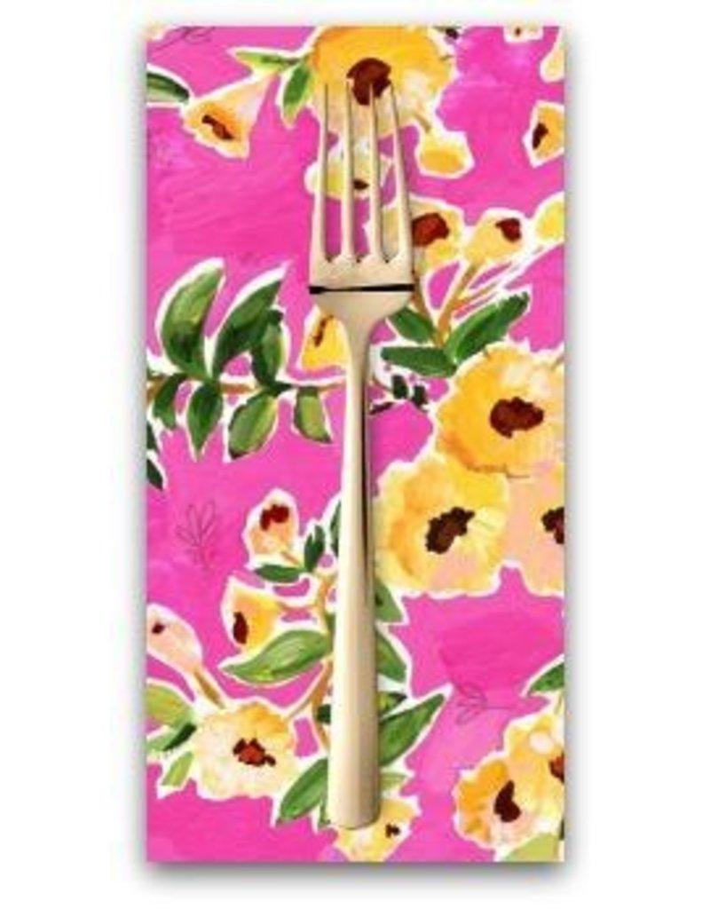 PD's August Wren Collection Viva Mexico!, Flower Wall in Multi, Dinner Napkin