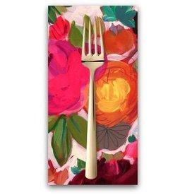 PD's August Wren Collection Viva Mexico!, Market Flowers in Multi, Dinner Napkin