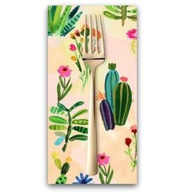 PD's August Wren Collection Viva Mexico!, Cacti in Multi, Dinner Napkin
