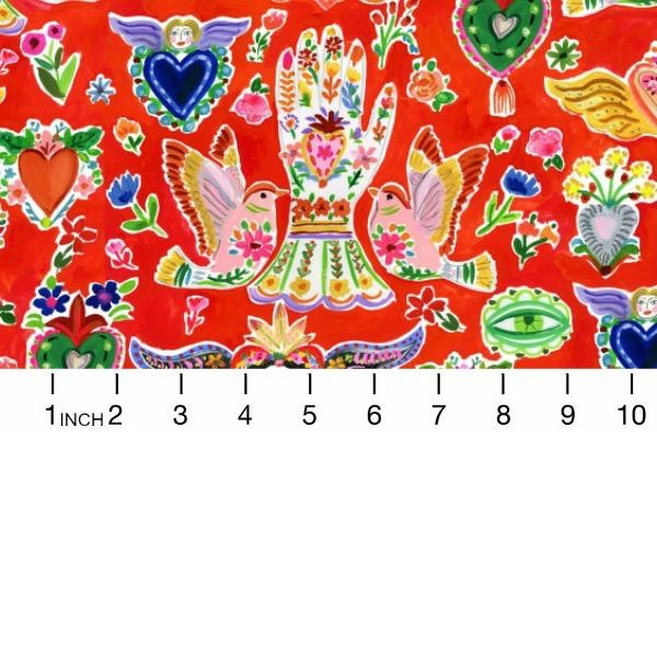 PD's August Wren Collection Viva Mexico!, Milagros in Multi, Dinner Napkin