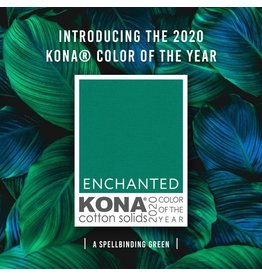 Robert Kaufman Kona Color of the Year 2020: Enchanted, Fabric Half-Yards K001-1832