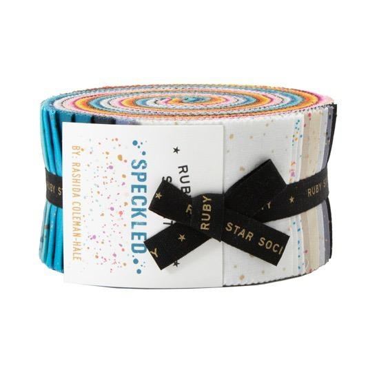 Ruby Star Society for Moda Speckled Fabric Jelly Roll from Ruby Star Society