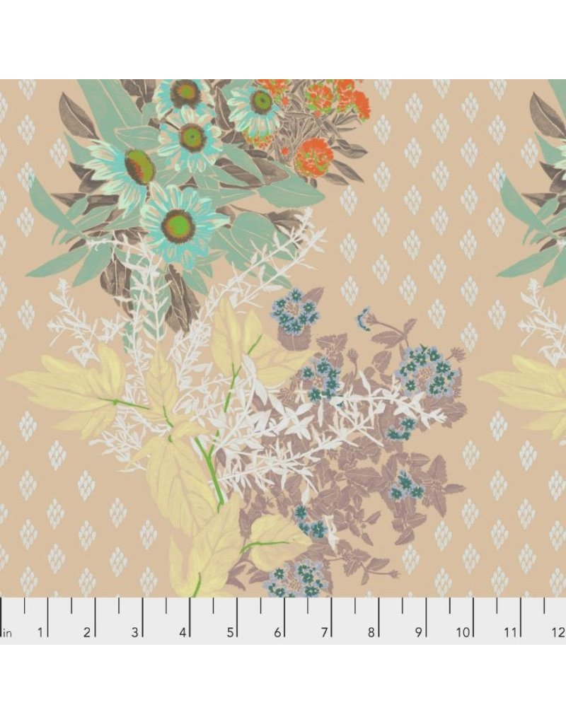 PD's Anna Maria Horner Collection One Mile Radiant, Front Walk in Antique, Dinner Napkin