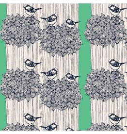 Bookhou After the Rain, Birdseed in Kelly, Fabric Half-Yards PWBH007